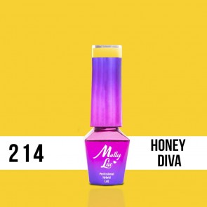 LAKIER MOLLY LAC OBSESSION HONEY DIVA 5ml nr 214