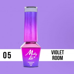 LAKIER MOLLY LAC GLAMOUR WOMAN VIOLET ROOM 5ml nr5