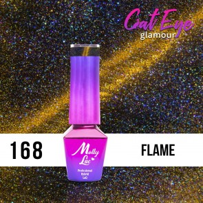 LAKIER MOLLY LAC CAT EYE GLAMOUR FLAME 5ml nr 168